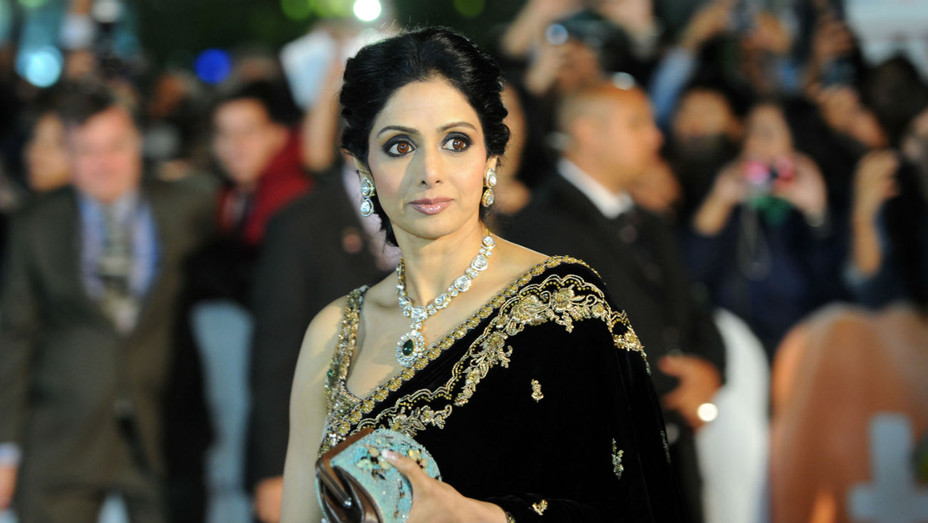 Sridevi Kapoor - Getty - H 2018