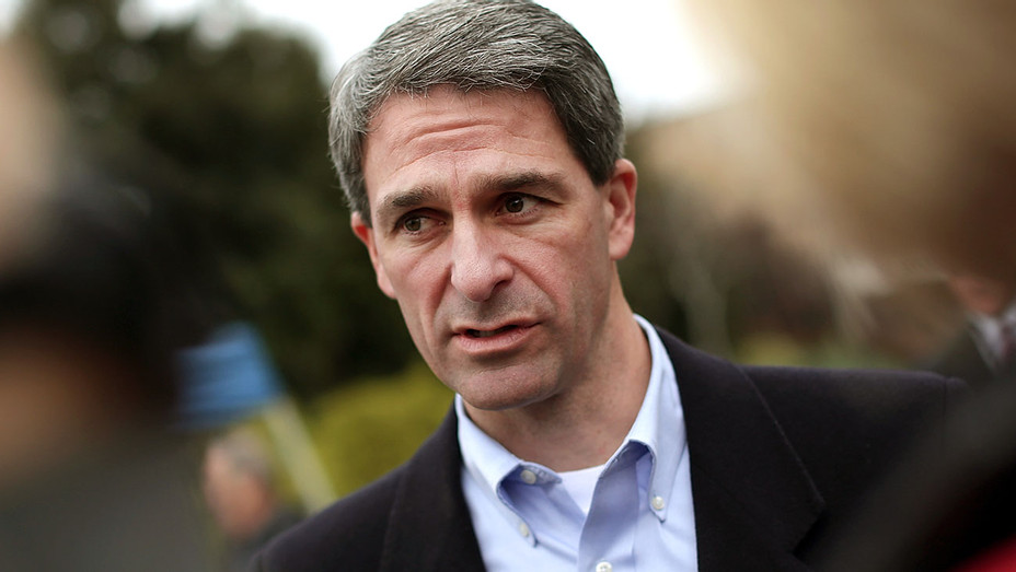Ken Cuccinelli talks with reporters -November 5, 2013 -Getty-H 2018