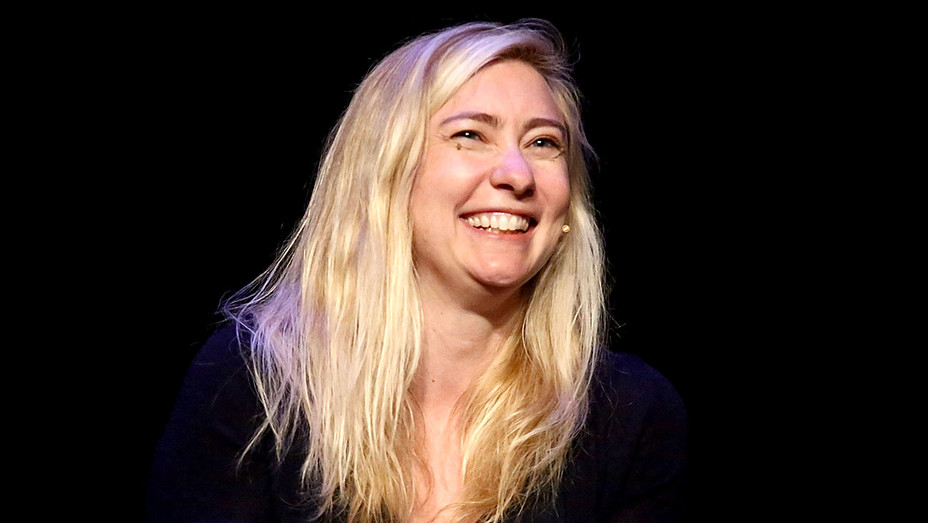Liz Meriwether attends the Tribeca Daring Women Summit - Getty-H 2018