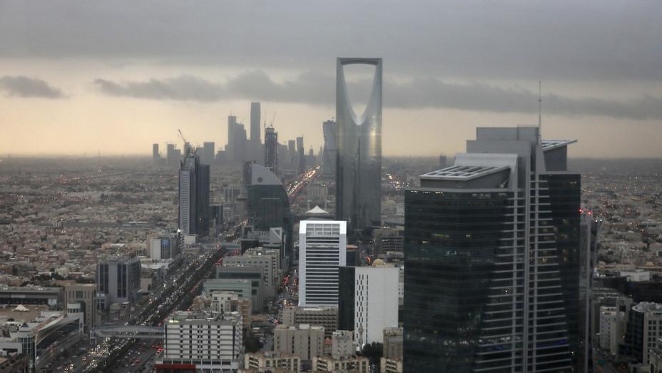 Riyadh Skyline, Saudi Arabia - H 2018 - Getty
