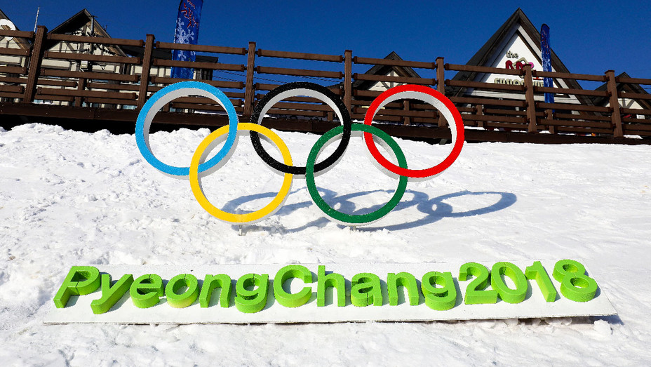 Winter Olympics PyeongChang Sign - Getty - H 2018