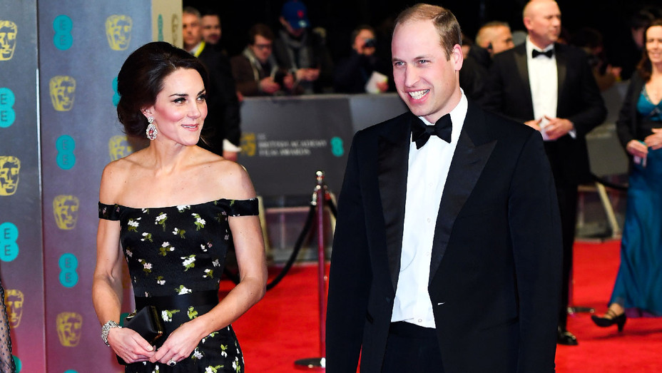 Kate Middleton and Prince William - 2017 BAFTAs - Getty - H 2018