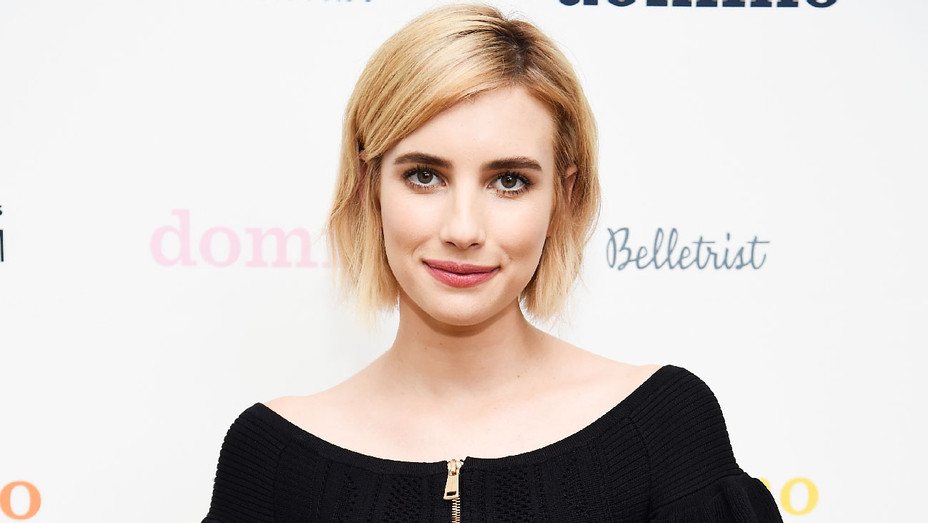 Emma Roberts - 2017 Domino x American Awards Platinum Event - Getty - H 2018
