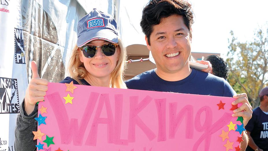 Renee Zellweger and Dr. Justin Ichida - Team Nanci 15th Annual LA County Walk To Defeat ALS - Getty- H 2018