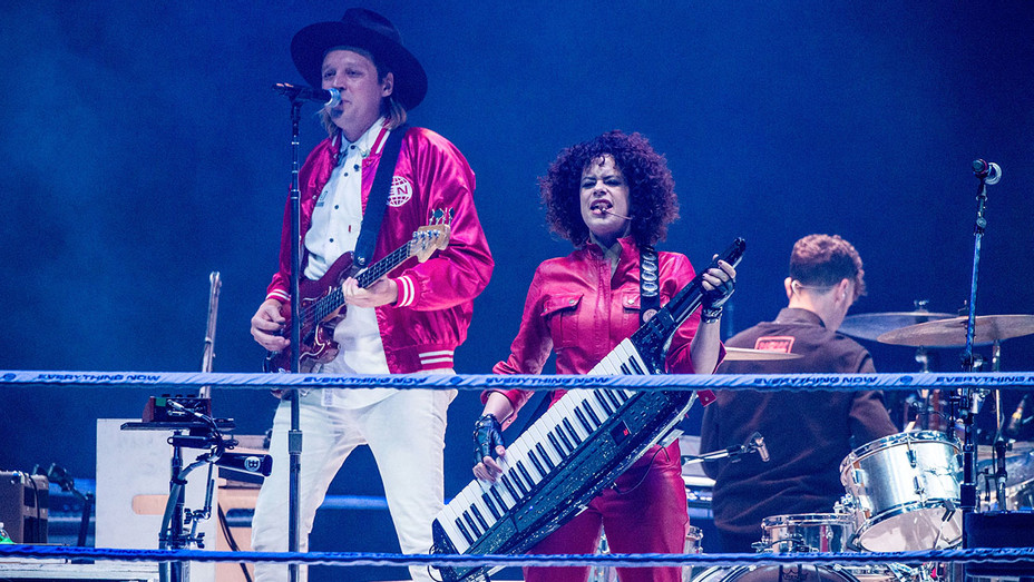 Arcade Fire -Win Butler and Regine Chassagne -Getty-h 2018