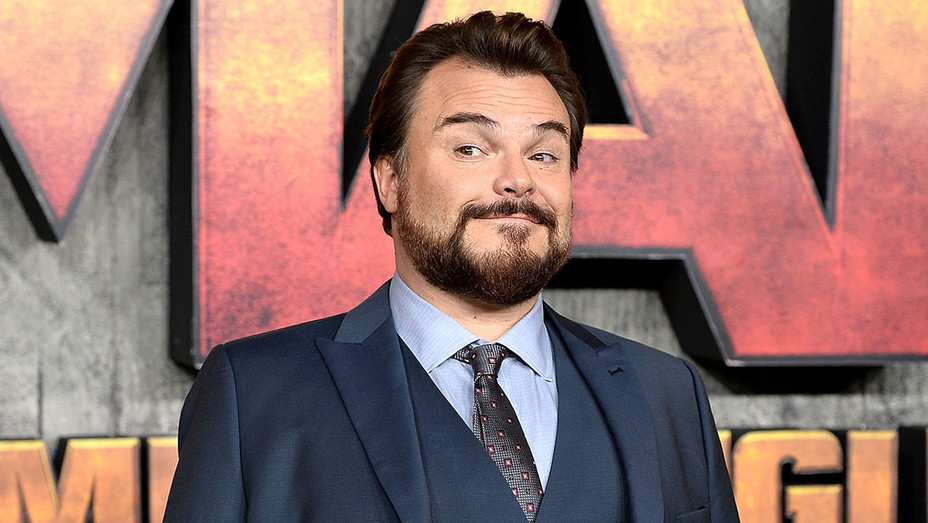 Jack Black attends the Jumanji Welcome To The Jungle UK premiere -Getty-H 2018