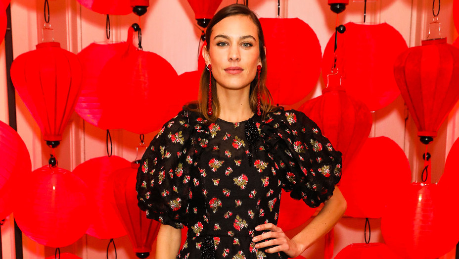 Alexa Chung - 2018 Wendy Yu's Chinese New Year Celebration - Getty - H 2018