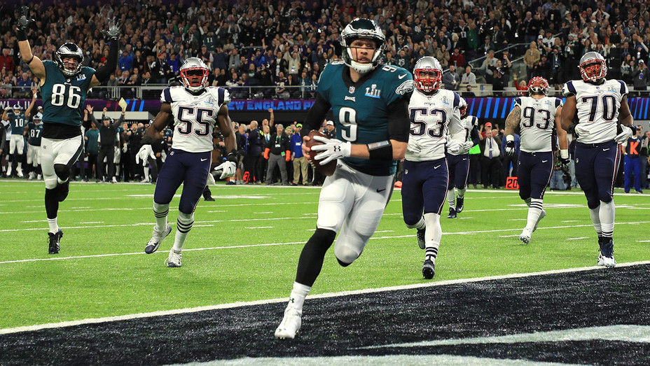 Philadelphia Eagles touchdown Super Bowl LII - Getty - H 2018