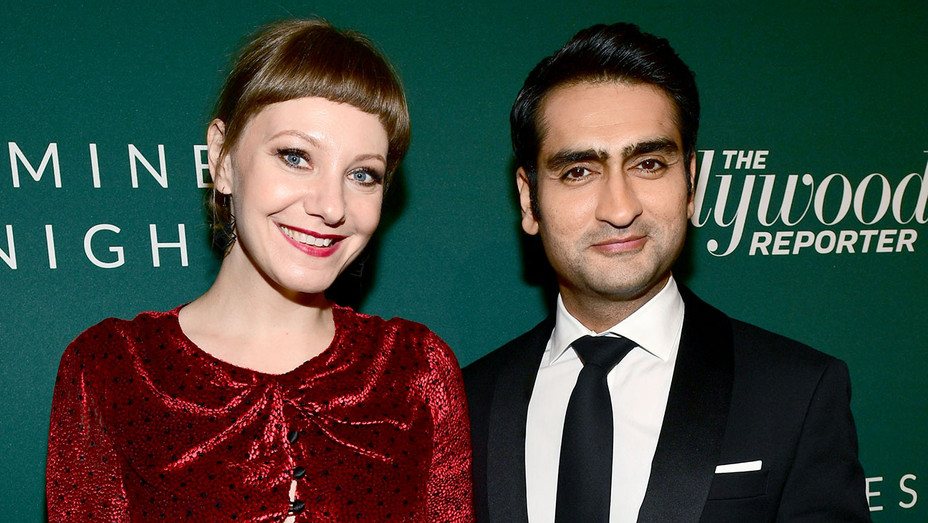 Emily V. Gordon and Kumail Nanjiani- The Hollywood Reporter 6th Annual Nominees Night  -Getty-H 2018