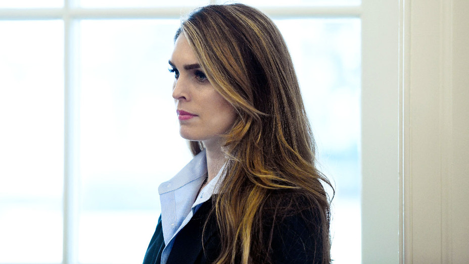 Hope Hicks - February 9 2018 White House Appearance - Getty - H 2018