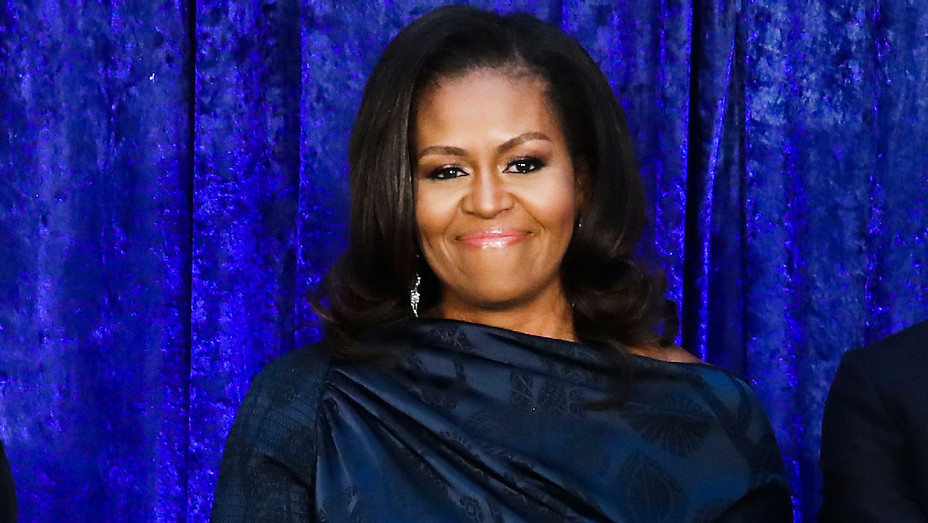 Michelle Obama - National Portrait Gallery Portraits - Getty - H 2018
