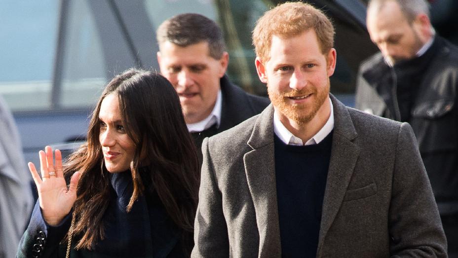 Meghan Markle and Prince Harry Edinburgh Visit - Getty - H 2018