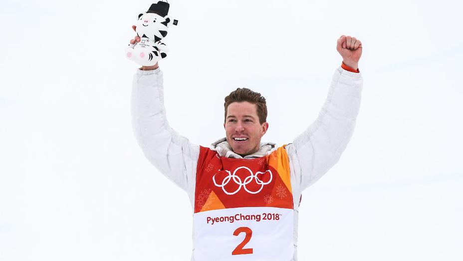 Shaun White Snowboarding Winter Olympics Day 5 - Getty - H 2018