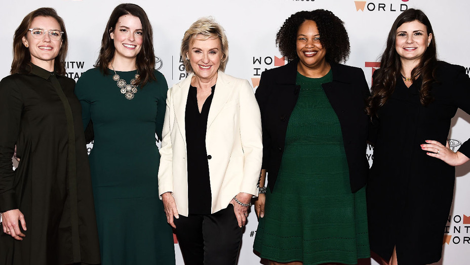 Heather Burke, Emily Kennedy, Tina Brown, Mia Phillips and Amy Cagle - Getty - H 2018