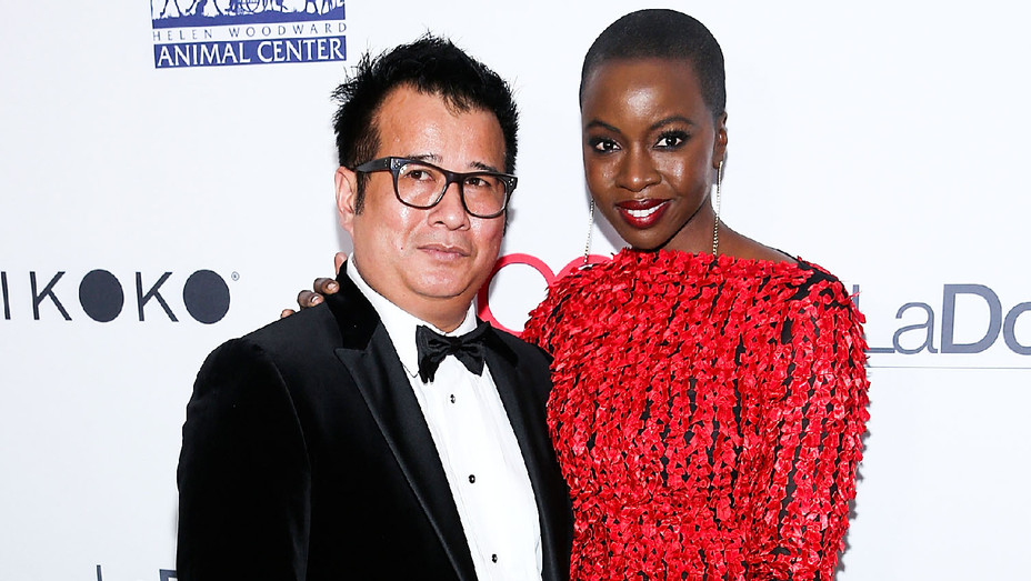 Tym Shutchai Buacharern and Danai Gurira - 4th Hollywood Beauty Awards - Getty - H 2018