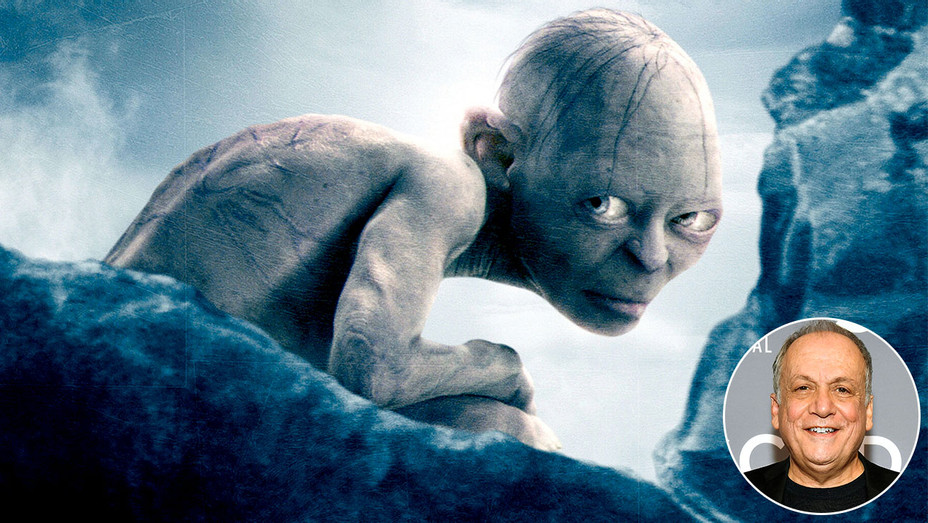 Gollum in Lord of the Rings and inset of  Joe Letteri-H 2018