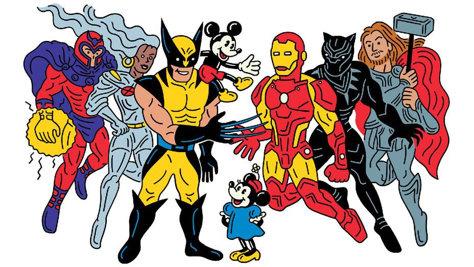 Disney vs X-Men - Illustration - H 2018