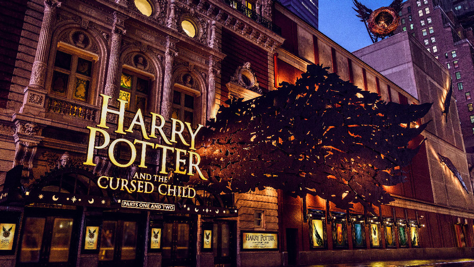 Harry Potter and the Cursed Child Theater Marquee - Publicity - H 2018