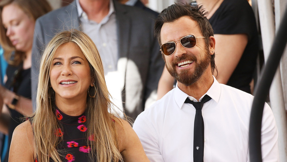 Jennifer Aniston Justin Theroux - Getty - H 2018