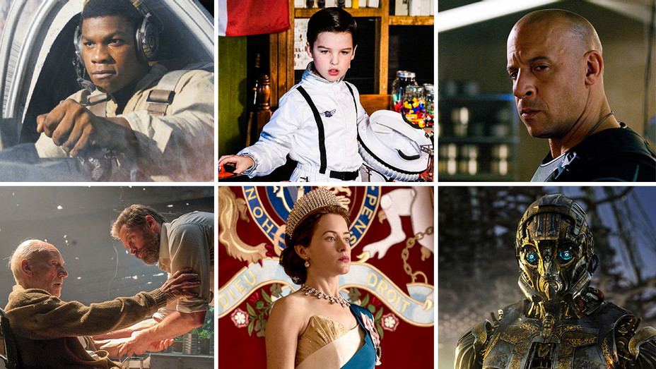Last Jedi_Young Sheldon_Fate of the Furious_Logan_The Crown_Transformers- The Last Night_Split - Publicity - H 2018