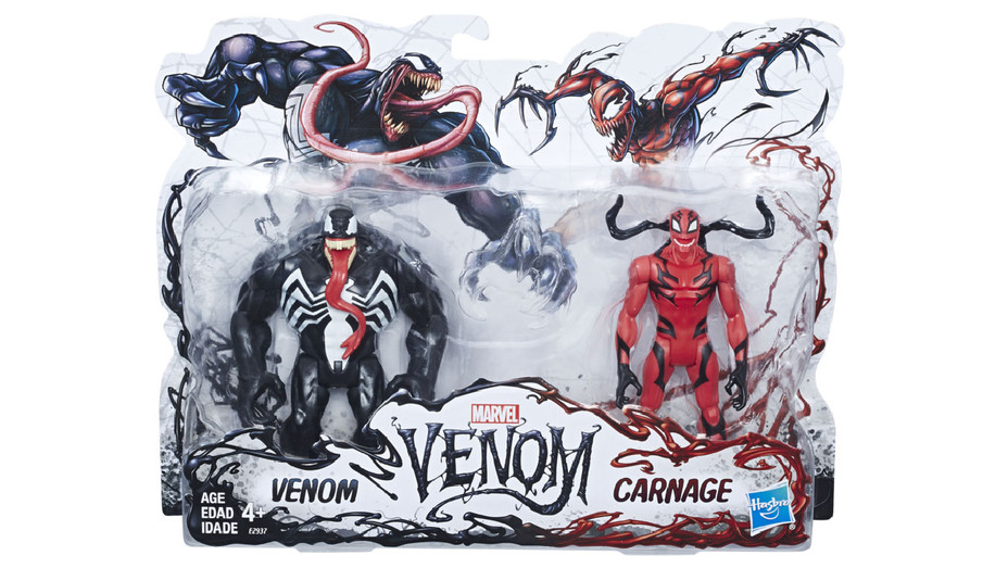 Hasbro Marvel Venom Toy - Publicity - H 2018