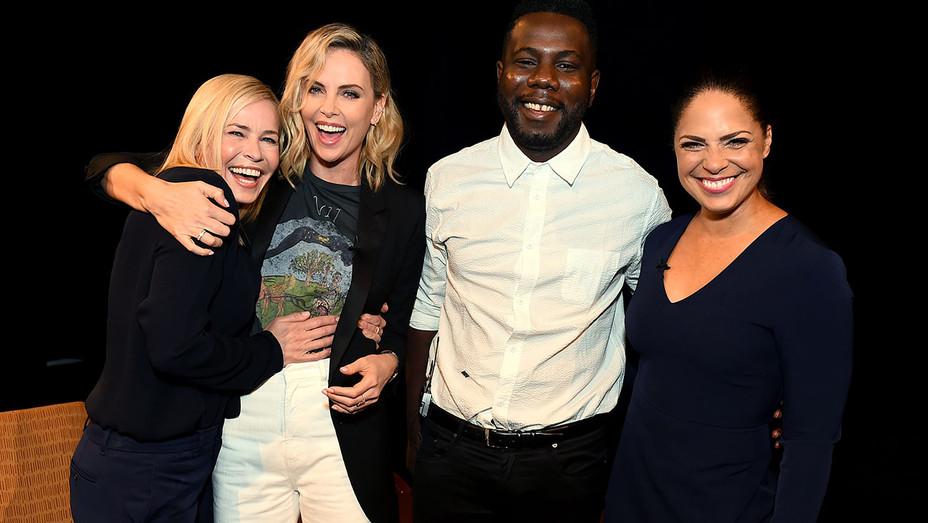 100 Conversations - Chelsea Handler, Charlize Theron, Kweku Mandela and Soledad O'Brien - Publicity-H 2018