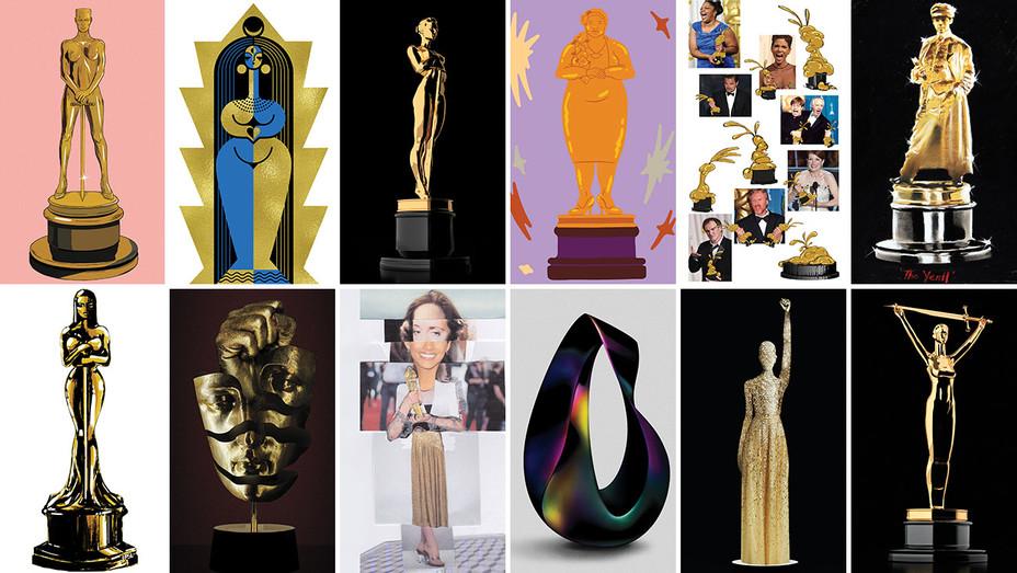 Oscar Statuette 12 Split - THR - H 2018