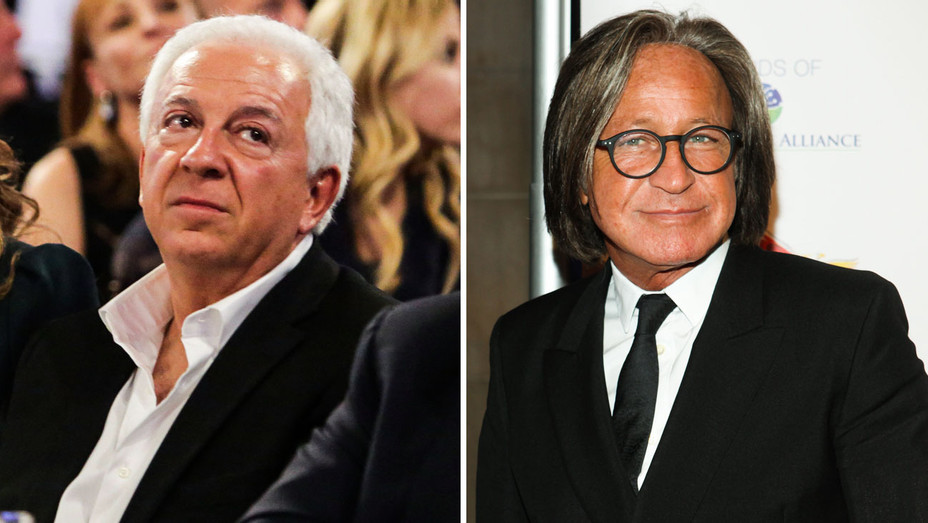 Paul Marciano and Mohamed Hadid - Split - Getty - H 2018