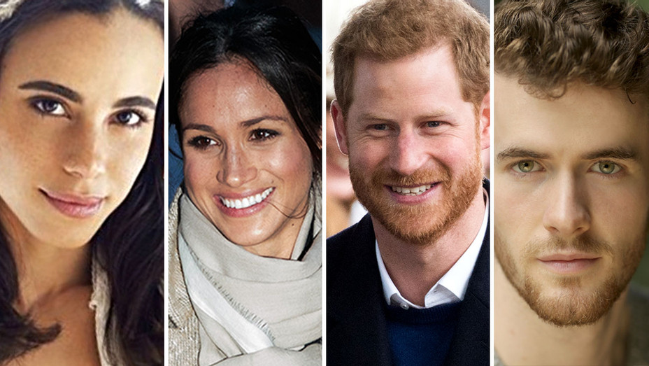 Prince Harry, Meghan Markle and Lifetime Murray Fraser and Parisa Fitz-Henley-H 2018