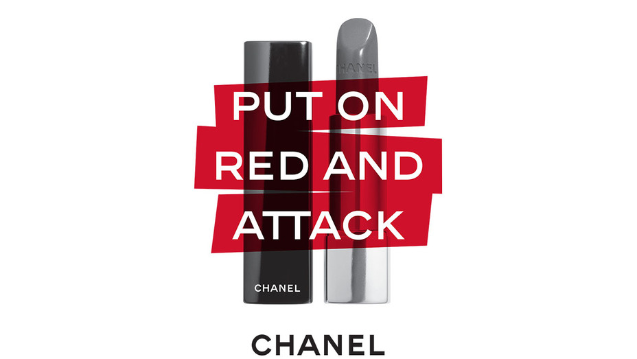 Put on Red and Attack- Chanel Beauty House- Publicity-H 2018