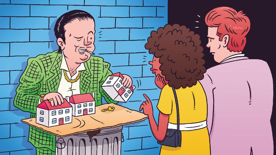 Real Estate Dodgy Deals - Illustration - H 2018