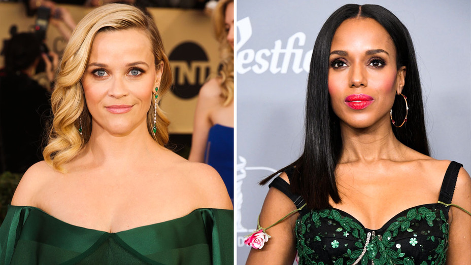 Reese Witherspoon and Kerry Washington - Split - Getty - H 2018