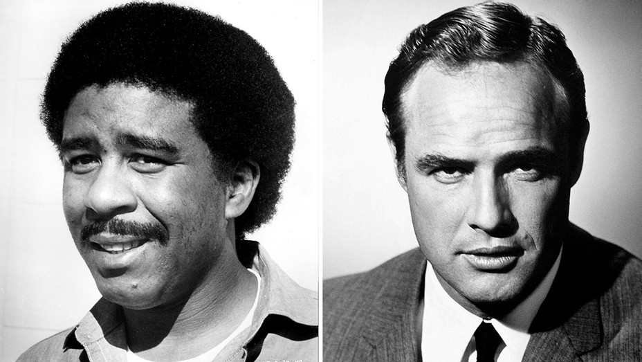 Richard Pryor and Marlon Brando -Split-Photofest-H 2018
