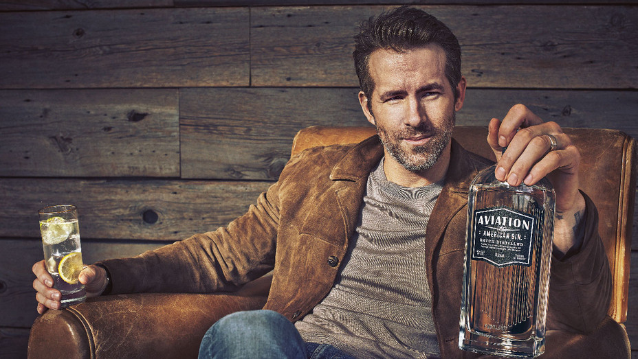 Ryan Reynolds Aviation Gin - Publicity - H 2018
