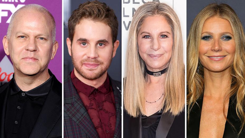Ryan Murphy, Ben Platt, Barbara Streisand and Gwyneth Paltrow-Getty-H 2018