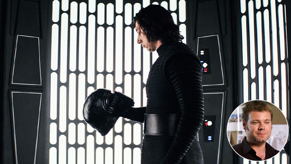 Star Wars: The Last Jedi Still and Paul Inglis - Inset - Publicity - H 2018