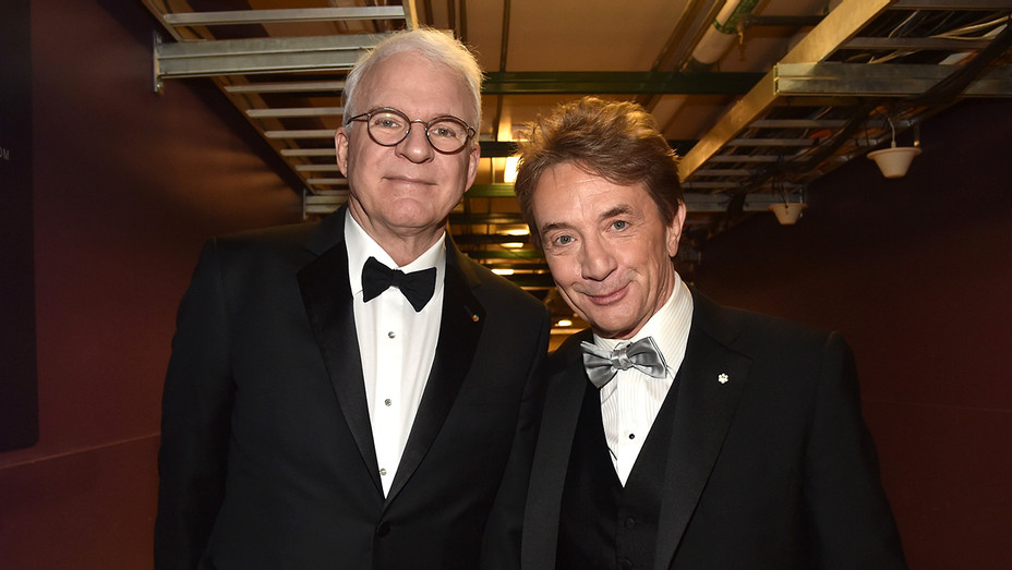 Steve Martin and Martin Short - Getty - H 2018