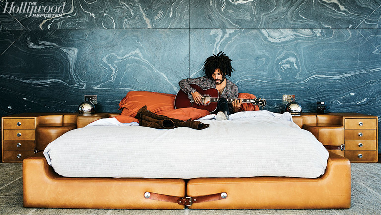 How Lenny Kravitz Came to Design a $38M Rock 'n' Roll Lair