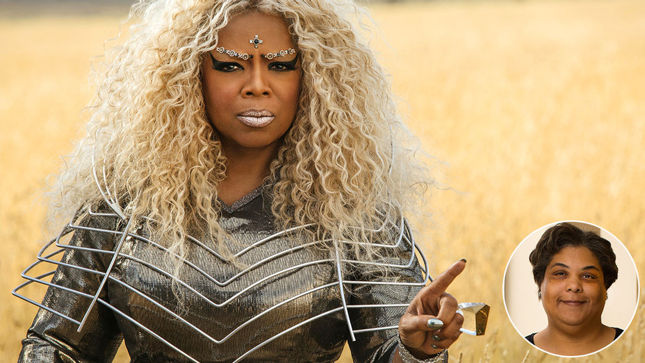 A Wrinkle in Time with an inset of Roxane Gay 2 - Publicity-H 2018