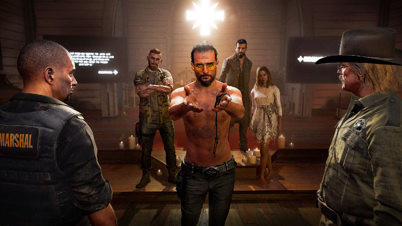 Far Cry 5 Is Satisfyingly Unsettling Hollywood Reporter