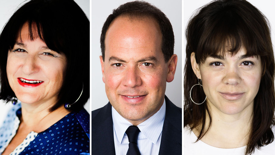 Bonnie Voland, David Schulhof and Cristina Garza - Split - Publicity - H 2018