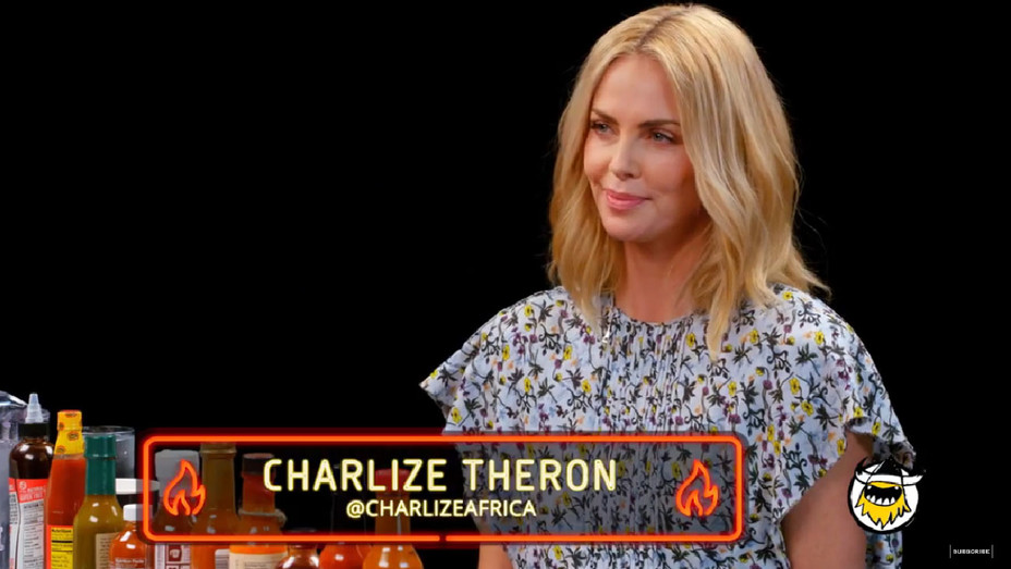 Charlize Theron Hot Ones First We Feast - Screenshot - H 2018