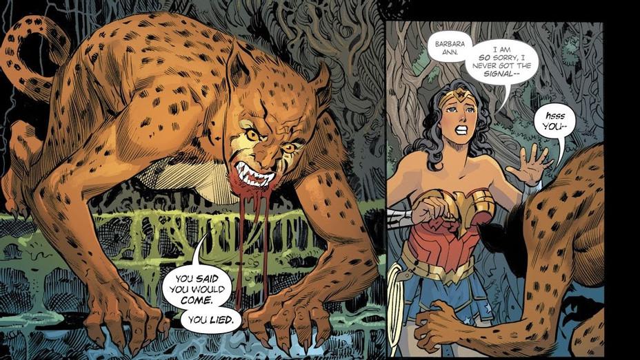 Wonder Woman Cheetah Art - Publicity - H 2018