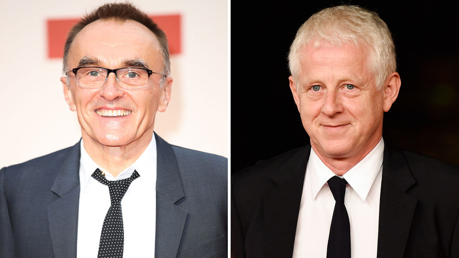Danny Boyle and Richard Curtis - Split - Getty - H 2018
