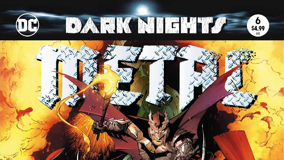 Dark Nights Metal 6 Cover - Publicity - P 2018