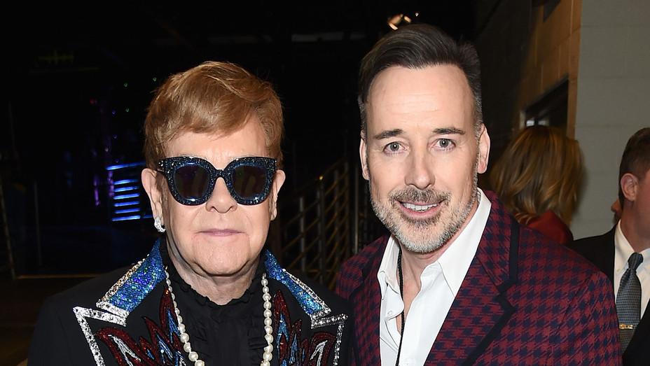 Elton John and David Furnish_ - Getty - H 2018