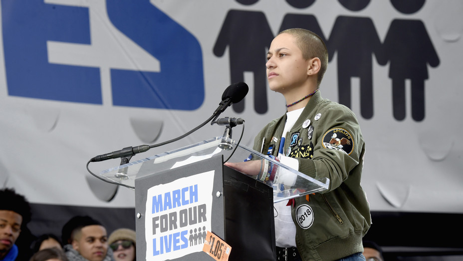 """Emma Gonzalez """"March For Our Lives"""" - H 2018 Getty"""