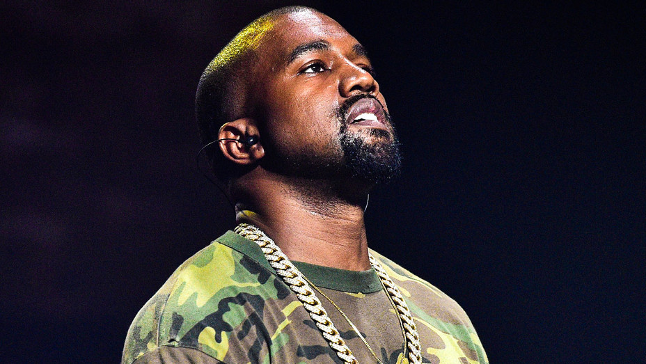 Kanye West Camouflage - 2015 Concert - Getty - H 2018