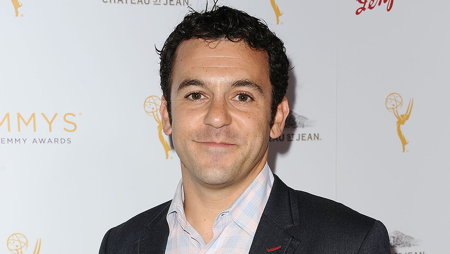 Fred Savage attends the Television Academy's cocktail reception-no smile-H 2018
