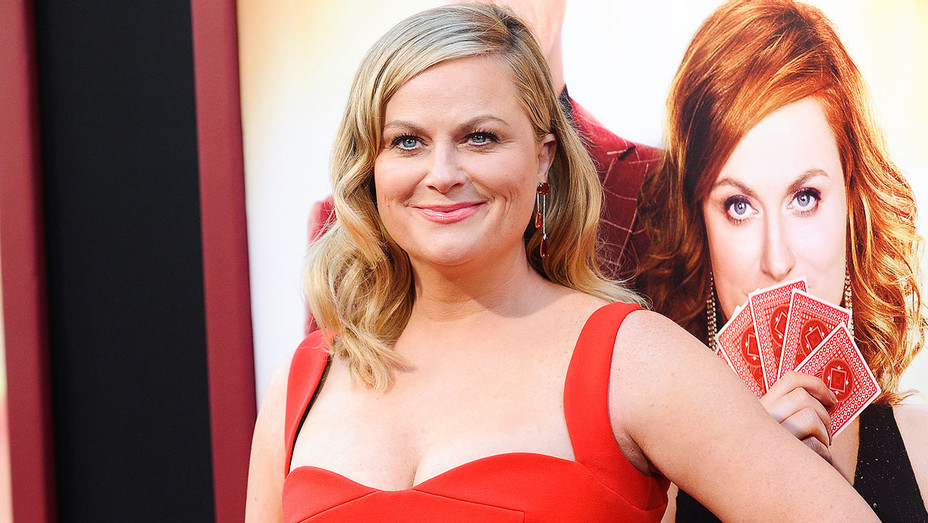 Amy Poehler - The House Premiere - Getty - H 2018